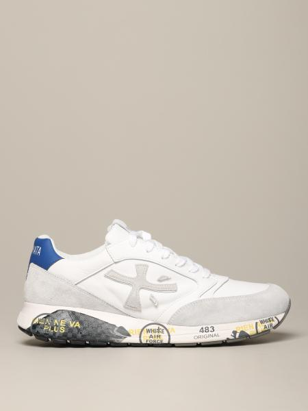 Premiata Zac zac sneakers in suede and leather with logo