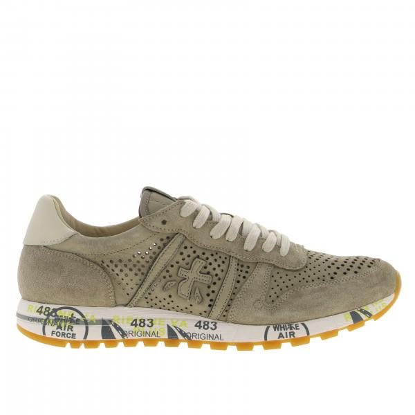 Eric Premiata suede sneakers with logo