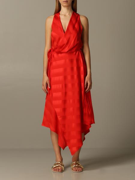 Abito abito simona corsellini a righe tono su tono Simona Corsellini - Giglio.com
