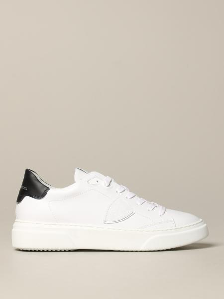 Temple Philippe Model leather sneakers