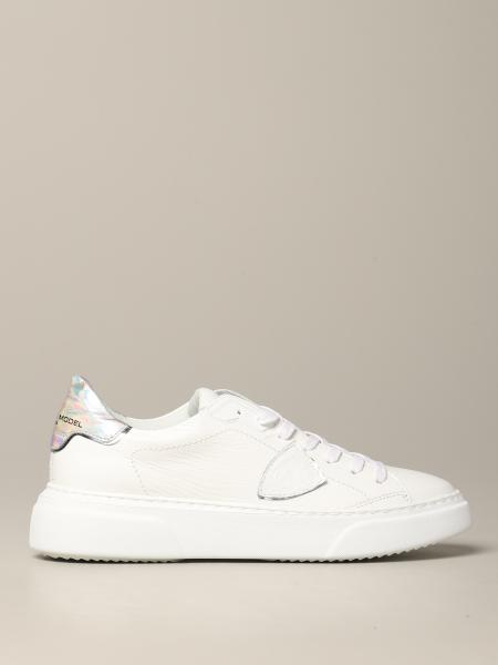 Philippe Model Temple leather sneakers