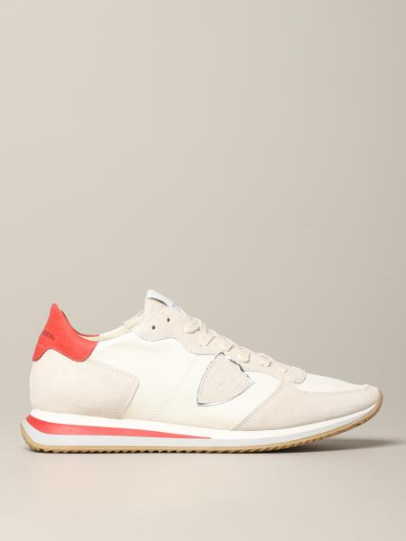 Tropez Philippe Model sneakers in suede and nylon