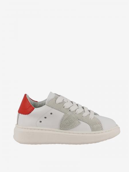 Sneakers Grandville Philippe Model in pelle e camoscio
