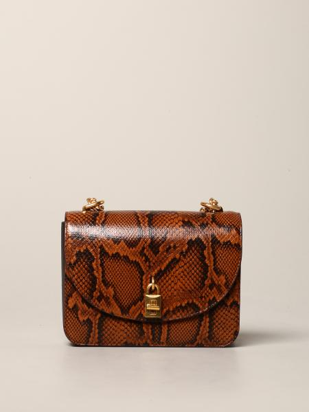 Borsa Love too Rebecca Minkoff in pelle stampa pitone
