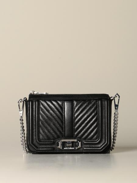 Borsa Love Rebecca Minkoff in pelle chevron