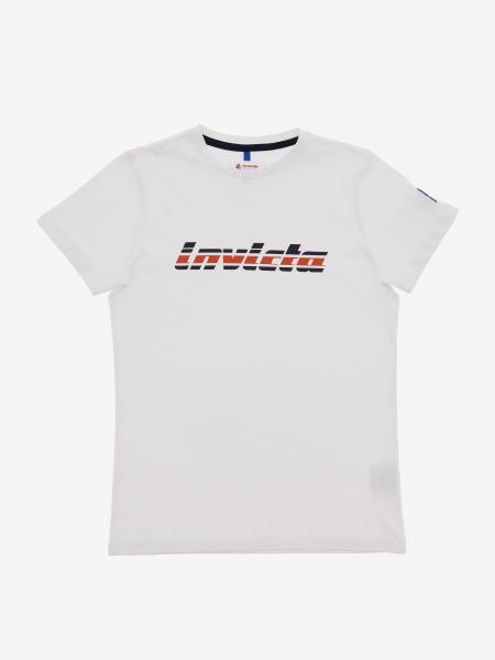 Invicta T-Shirt mit zweifarbigem Logo-Print