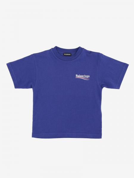 Balenciaga logo印花T恤