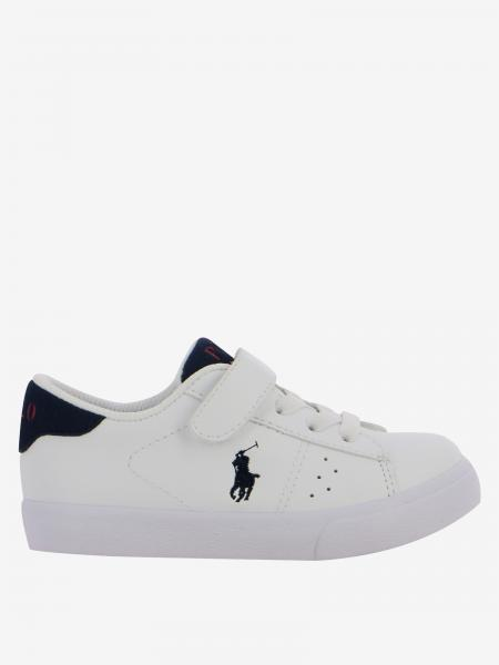 Sneakers Theron ez Polo Ralph Lauren in pelle
