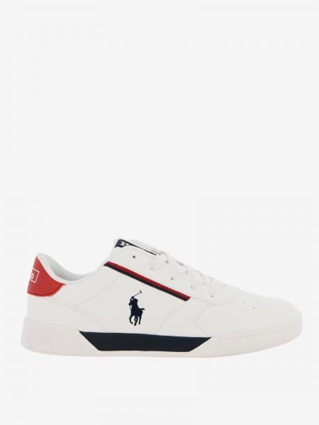 Keelin Polo Ralph Lauren Leder Sneakers