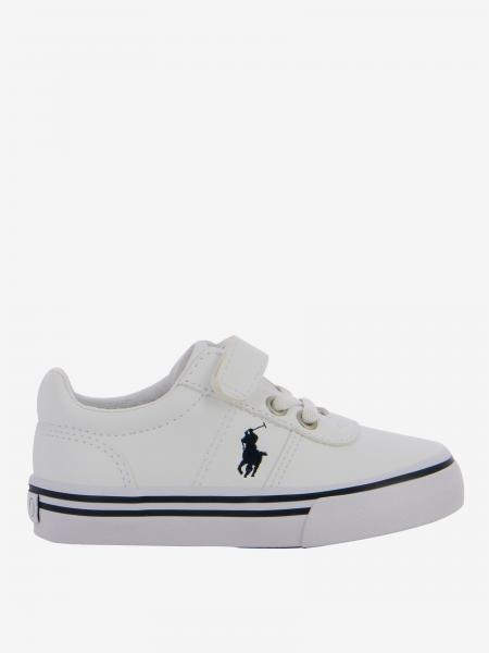Sneakers Hanford ez Polo Ralph Lauren in pelle