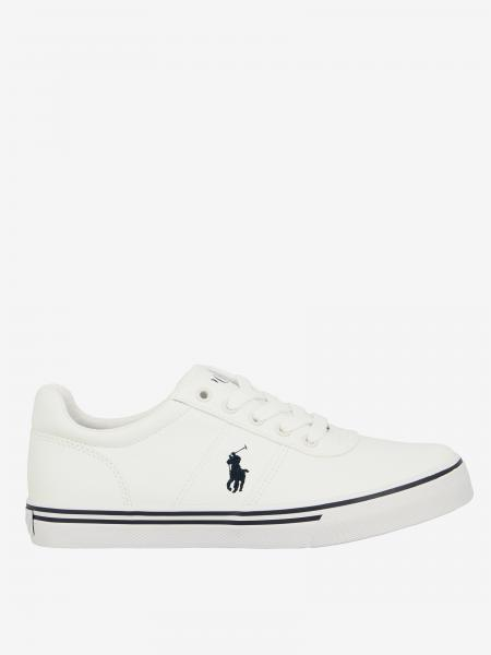Sneakers Hanford ez Polo Ralph Lauren in pelle con logo