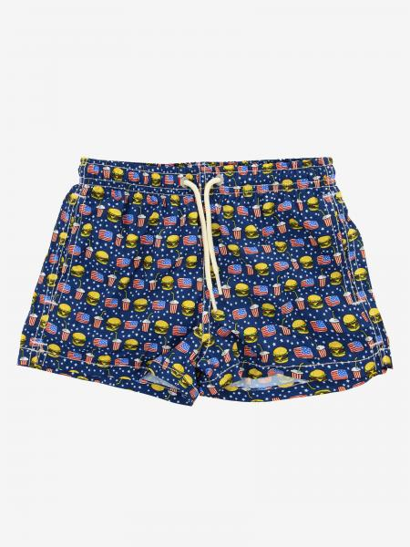 Short de bain MC2 Saint Barth avec imprimé sandwichs
