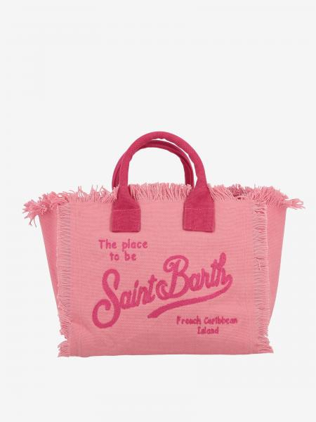 Borsa Colette shopping MC2 Saint Barth in canvas