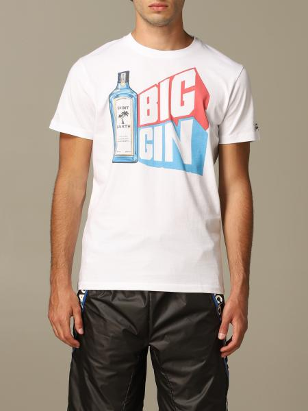 T-shirt MC2 Saint Barth con stampa Big gin