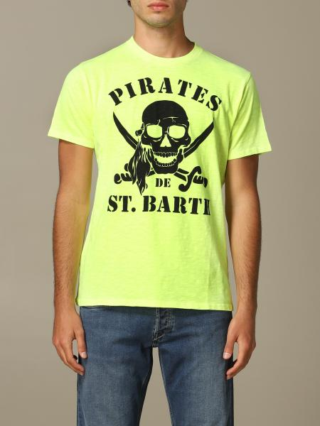 T-shirt MC2 Saint Barth con stampa teschio