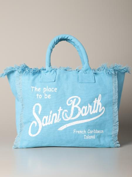 Borsa Vanity shopping MC2 Saint Barth in canvas