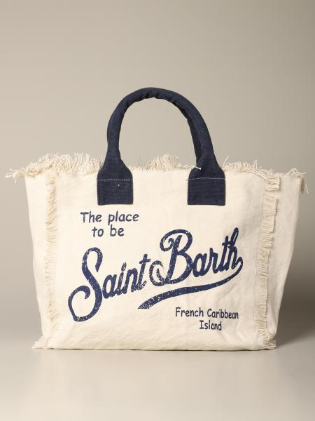 Borsa Vanity shopping MC2 Saint Barth in tela