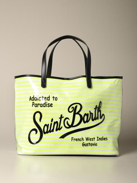 Borsa Las Vegas MC2 Saint Barth in pvc a righe