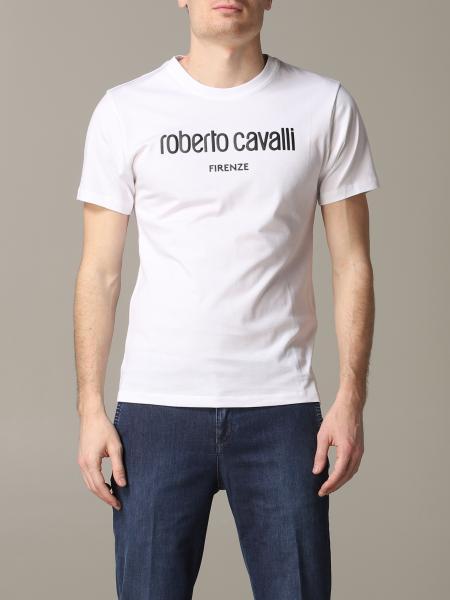 T-shirt Roberto Cavalli a maniche corte con logo