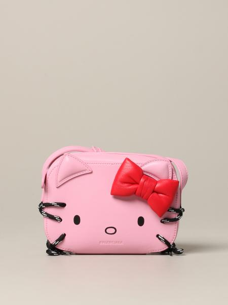 Borsa Hello kitty Balenciaga in pelle
