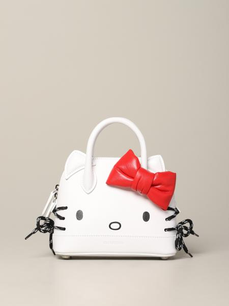 Borsa Hello kitty Ville Balenciaga in pelle