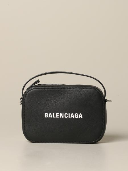 Borsa Everyday XS Balenciaga in pelle con logo