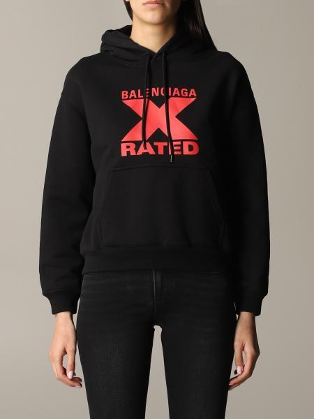 Balenciaga Sweatshirt mit X Rated Print