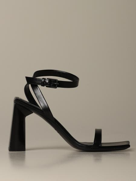 Moon Balenciaga leather sandal