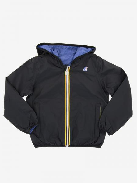 Jacques K-way reversible jacket with hood