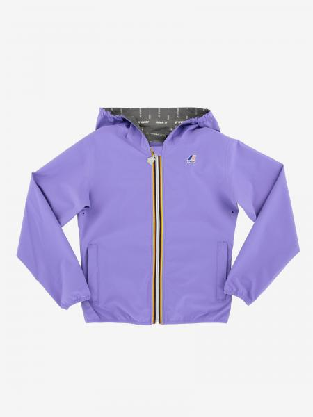 Lil K-way jacket with hood