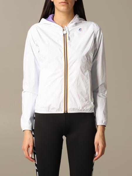 Veste sportive Lily K-way en nylon réversible avec logo