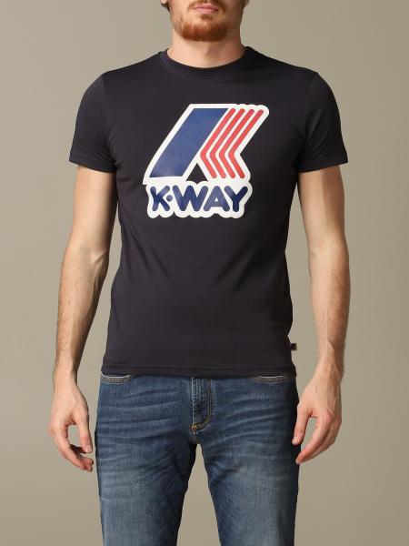 T-shirt men K-way