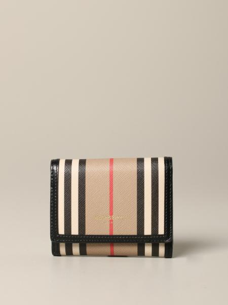 Portefeuille check Burberry