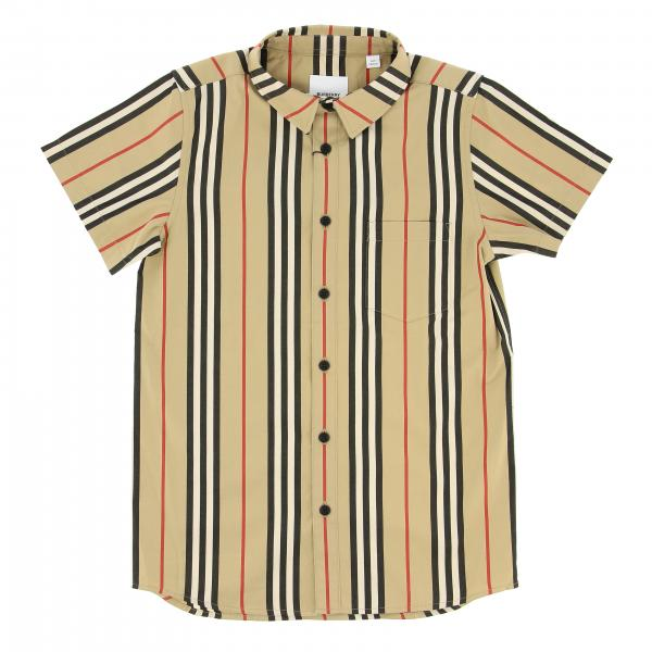 Camicia Burberry a righe vintage check