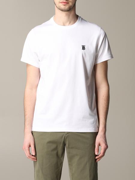 T-shirt Burberry con monogramma TB
