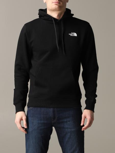 Felpa The North Face con cappuccio e logo
