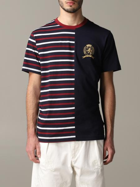 T-shirt Hilfiger Collection a maniche corte con crest
