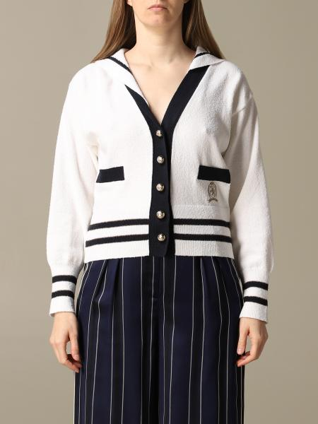Cardigan Hilfiger Collection avec cape style marin