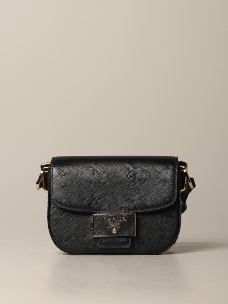 Prada Ensemble Tasche aus Saffiano-Leder mit Logo