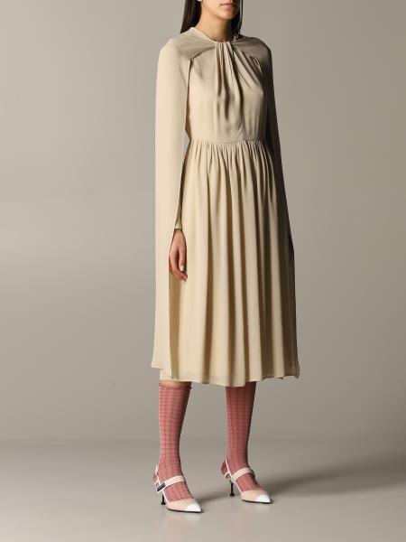 Prada Kleid mit Umhang