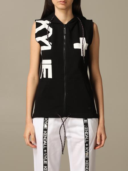 Sweat Kendall + Kylie avec capuche et logo