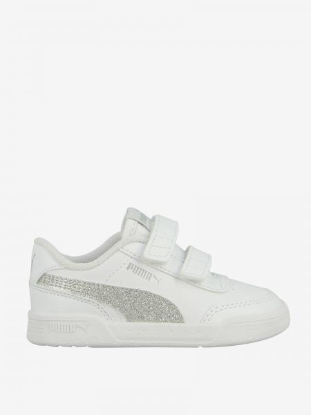 Sneakers Caracall Puma in pelle con logo glitter