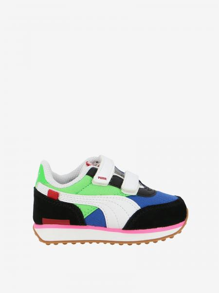 Sneakers Future rider play on Puma in suede pelle e tela