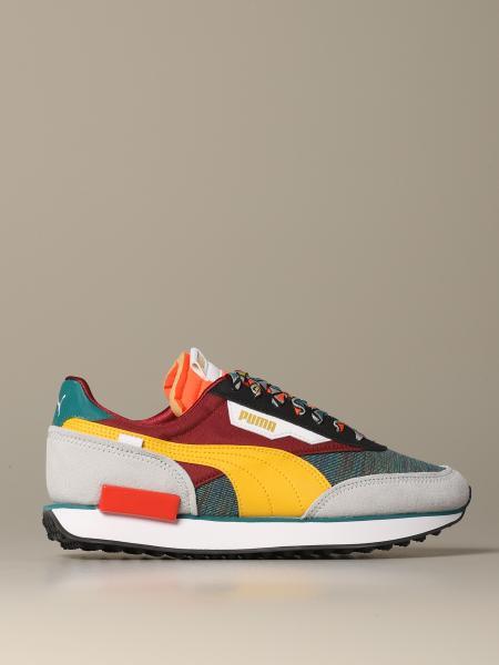 Sneakers Future rider mix Puma in suede e tela