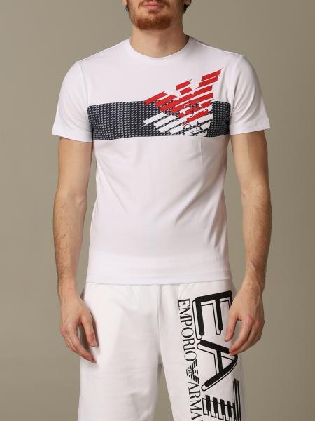T-shirt EA7 con logo aquila