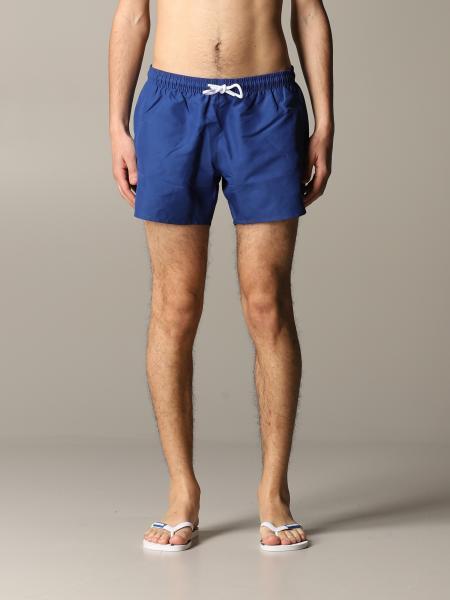 Costume a boxer E.Armani Swimwear in nylon con logo