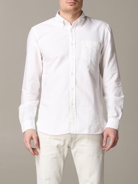 Camicia Woolrich con collo button down in cotone