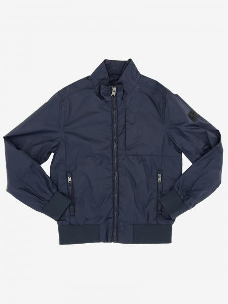 Bomber Woolrich in nylon con zip
