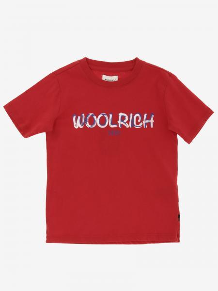 T-shirt Woolrich avec logo