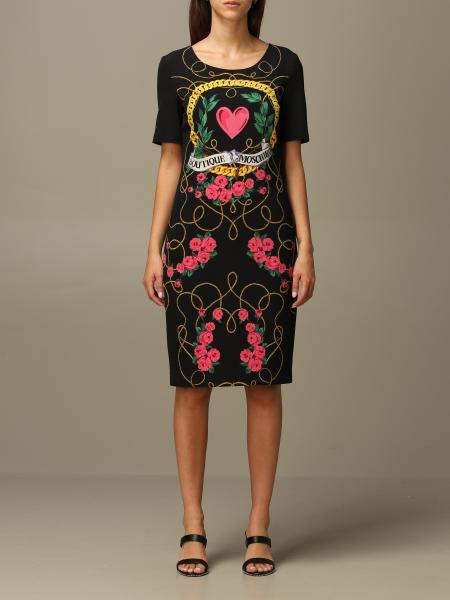Moschino Boutique crepe dress